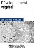 eBook: Développement végétal