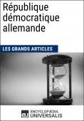 eBook: République démocratique allemande