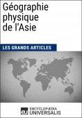 eBook: Géographie physique de l'Asie