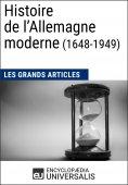 eBook: Histoire de l'Allemagne moderne (1648-1949)