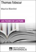 eBook: Thomas l'obscur de Maurice Blanchot