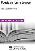 eBook: Poésie en forme de rose de Pier Paolo Pasolini