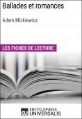 eBook: Ballades et romances d'Adam Mickiewicz