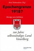 eBook: Epochengrenze 1918?