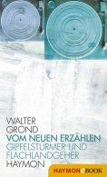 eBook: Vom neuen Erzählen