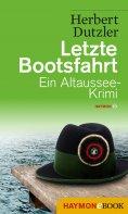eBook: Letzte Bootsfahrt