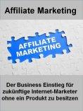 eBook: Affiliate Marketing