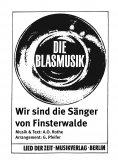 eBook: Wir sind die Sänger von Finsterwalde