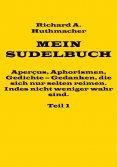 eBook: Mein Sudelbuch, Teil 1