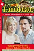 eBook: Der neue Landdoktor 28 – Arztroman