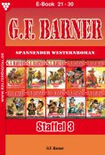 eBook: G.F. Barner Staffel 3 – Western