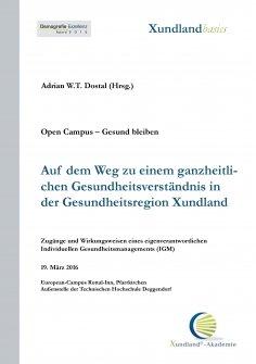 eBook: Auf dem Weg zu einem ganzheitlichen Gesundheitsverständnis in der Gesundheitsregion Xundland