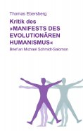 eBook: Kritik des Manifests des evolutionären Humanismus