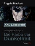 ebook: XXL-Leseprobe - Antiquerra-Saga 1: Die Farbe der Dunkelheit