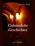 ebook: Unheimliche Geschichten