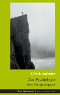 eBook: Zur Psychologie des Bergsteigens