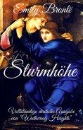 """eBook: Emily Brontë: Sturmhöhe. Vollständige deutsche Ausgabe von """"Wuthering Heights"""""""