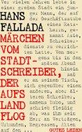ebook: Märchen vom Stadtschreiber, der aufs Land flog