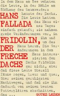 eBook: Fridolin, der freche Dachs