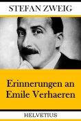 eBook: Erinnerungen an Emile Verhaeren