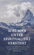 eBook: Was man unter Spiritualität versteht