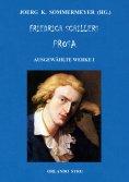eBook: Friedrich Schillers Prosa. Ausgewählte Werke I