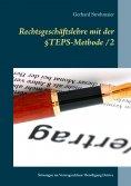 eBook: Rechtsgeschäftslehre mit der  §TEPS-Methode/2