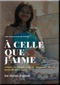 eBook: CHER ANGE, VOUS ÊTES BELLE, À CELLE QUE J'AIME