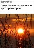 eBook: Grundriss der Philosophie IX Sprachphilosophie