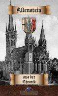 ebook: Zur Allensteiner Stadtchronik der Jahre 1802 bis 1827
