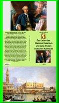 eBook: Das Leben des Giacomo Casanova und seine frivolen erotischen Abenteuer - Teil 1