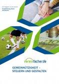 eBook: Gemeinnützigkeit - Steuern und gestalten