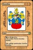eBook: The noble Polish Kostka family. Die adlige polnische Familie Kostka.