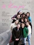 eBook: a tempo - Das Lebensmagazin