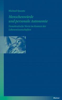 ebook: Menschenwürde und personale Autonomie