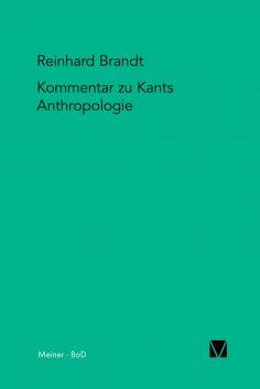 """ebook: Kritischer Kommentar zu Kants """"Anthropologie in pragmatischer Hinsicht"""" (1798)"""