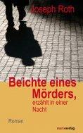 eBook: Beichte eines Mörders, erzählt in einer Nacht