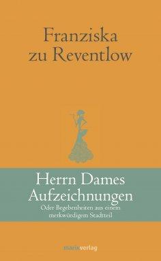 ebook: Herrn Dames Aufzeichnungen