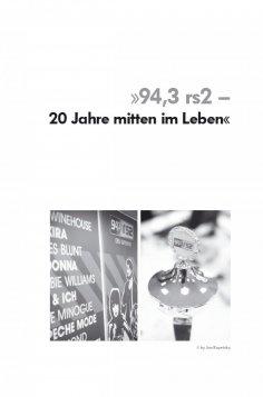 eBook: 94,3 rs2 – 20 Jahre mitten im Leben