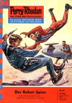 ebook: Perry Rhodan 61: Der Robot-Spion