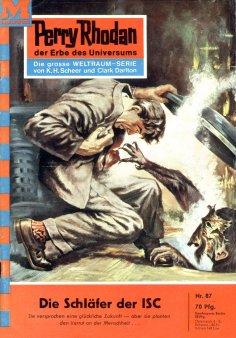 eBook: Perry Rhodan 87: Die Schläfer der ISC