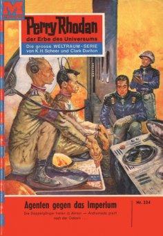 eBook: Perry Rhodan 224: Agenten gegen das Imperium