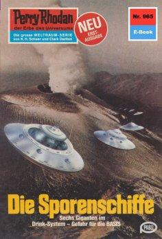 ebook: Perry Rhodan 965: Die Sporenschiffe