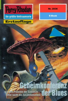 ebook: Perry Rhodan 2036: Geheimkonferenz der Blues
