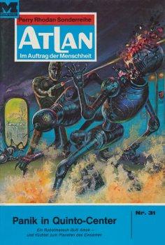 eBook: Atlan 31: Panik in Quinto-Center