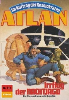 ebook: Atlan 717: Irrflug der NACHTJAGD