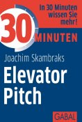 eBook: 30 Minuten Elevator Pitch