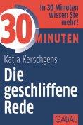 eBook: 30 Minuten Die geschliffene Rede