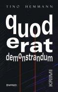 eBook: quod erat demonstrandum. Krimi