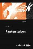 eBook: Paukersterben: Frankfurter Schulkrimi